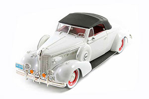 BUICK CENTURE CONVERTIBLE COUPE 1938 WHITE