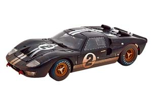 FORD GT40 MK 2 WINNER 24H LE MANS 1966 DIRTY VERSION MCLAREN/AMON