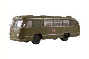 LAZ-695B AMBULANCE (USSR RUSSIA BUS) DARK GREEN | ЛАЗ-695Б САНИТАРНЫЙ НАШИ АВТОБУСЫ. СПЕЦВЫПУСК №1 *ЛАЗ ЛЬВОВСКИЙ АВТОЗАВОД