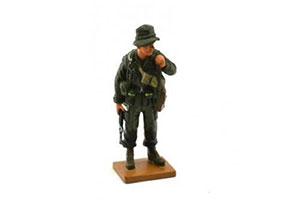 FIGURINE STAFF SERGEANT (STAFF SERGEANT) OF THE 173RD AIRBORNE BRIGADE OF THE UNITED STATES VIETNAM 1971 *ФИГУРКА ФИГУРИНА ФИГУРА