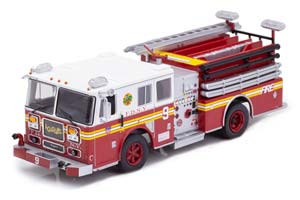 SEAGRAVE NEW YORK FIRE DEPARTMENT FIRE, USA