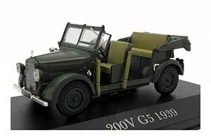 MERCEDES W152 G5 1938 MATT-DARK GREEN