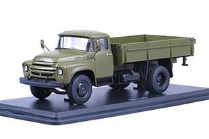 ZIL 130 (USSR CARS) 1964 GREEN (ЗИЛ 130 РАННЯЯ РЕШЕТКА)
