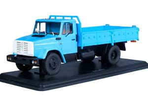 ZIL 4331 ONBOARD (USSR RUSSIA) 1986 BLUE | ЗИЛ-4331 БОРТОВОЙ