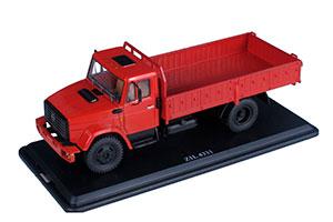ZIL-4331 FLATBED TRUCK DARK RED | ЗИЛ 4331 БОРТОВОЙ ВЫСТАВОЧНЫЙ СССР