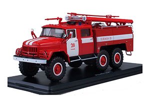 ZIL-131 FIRE TRUCK AC-40 (USSR RUSSIA) | ЗИЛ-131 АЦ-40 КАЗАНЬ