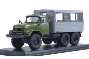 ZIL-131 KUNG (USSR RUSSIA) | ЗИЛ 131 ВАХТОВЫЙ АВТОБУС ХАКИ/СЕРЫЙ