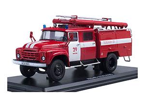 ZIL-130 FIRE ENGINE AC-40 MOSCOW | ЗИЛ 130 АЦ-40 МОСКВА *ЗИЛ ЗАВОД ИМЕНИ ЛИХАЧЕВА