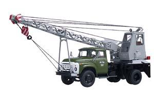ZIL 130 CRANE (USSR RUSSIA) GREEN/GREY   ЗИЛ-130 АВТОКРАН АК-75В ХАКИ/СЕРАЯ СТРЕЛА *ЗИЛ ЗАВОД ИМЕНИ ЛИХАЧЕВА