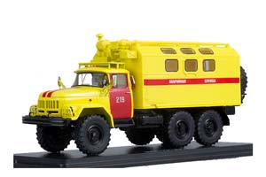 ZIL-131 EMERGENCY SERVICE (USSR RUSSIA) | ЗИЛ-131 КУНГ АВАРИЙНАЯ СЛУЖБА