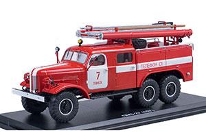 ZIL 157K PMZ-27 TOMSK FIRE DEPT #7 (USSR RUSSIA) | ПМЗ-27 (157К) Г. ТОМСК ПЧ №7
