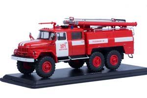 ZIL-131 FIRE TRUCK AC-40 (USSR RUSSIA) | ЗИЛ 131 АЦ-40 УПЧ Г.КОСТРОМА