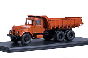YAAZ 210E DUMPER TRUCK ЯАЗ 210Е TIPPER 1951 TERRACOTTA