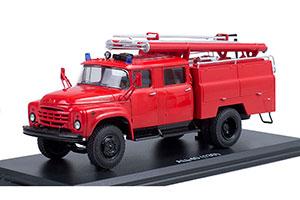ZIL-130 AC-40-63B FIRE TRUCK (USSR RUSSIA) | ЗИЛ-130 АЦ-40-63Б НА БАЗЕ ЗИЛ-130(ДПД ДОБРОВОЛЬНАЯ ПОЖАРНАЯ ДРУЖИНА *ЗИЛ ЗАВОД ИМЕНИ ЛИХАЧЕВА