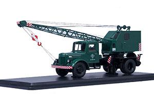 MAZ-200 CRANE K-51 GREEN (USSR RUSSIAN CAR) | МАЗ-200 АВТОКРАН К-51 ЗЕЛЕНЫЙ *МАЗ