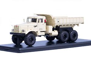 KRAZ-255B DUMP TRUCK 6X6 BEIGE (USSR RUSSIA) | КРАЗ-255Б САМОСВАЛ 6X6 БЕЖЕВЫЙ *КРАЗ КРЕМЕНЧУГСКИЙ АВТОЗАВОД