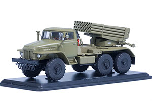URAL BM-21 GRAD 375 KHAKI (USSR RUSSIAN) | УРАЛ БМ-21 ГРАД 375 ХАКИ *УРАЛ УРАЛЬСКИЙ АВТОЗАВОД МИАССКИЙ