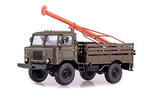GAZ 66 DRILLING MACHINE BM-302 (USSR RUSSIAN) | ГАЗ 66 БУРИЛЬНАЯ МАШИНА БМ-302 *ГАЗ ГОРЬКОВСКИЙ АВТОЗАВОД ГОРЬКИЙ