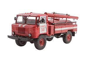 GAZ 66 AC-30 FIRE TRUCK (USSR RUSSIA) | ГАЗ-66 АЦ-30 ПЧ №33 Г. КАШИН