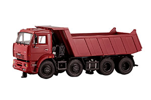 KAMAZ 6540 8X4 EARLY (USSR RUSSIA) | КАМАЗ 6540 8Х4 САМОСВАЛ (РАННИЙ)