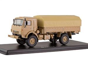 KAMAZ 43502 4X4 MUSTANG (USSR RUSSIA) | КАМАЗ 43502 4Х4 МУСТАНГ