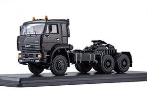 KAMAZ 65225 (USSR RUSSIA) BLACK | КАМАЗ-65225 ТЯГАЧ