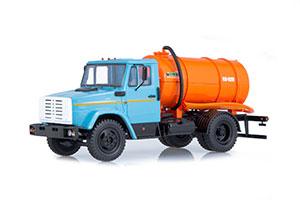 ZIL 4333 KO-520 VACUUM MACHINE (USSR RUSSIAN CAR) | ЗИЛ 4333 ВАКУУМНАЯ МАШИНА КО-520 *ЗИЛ ЗАВОД ИМЕНИ ЛИХАЧЕВА