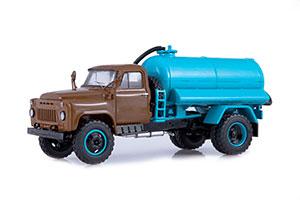 GAZ 53A ANM-53 ASSENIZATION MACHINE (USSR RUSSIAN) | ГАЗ 53А АНМ-53 АССЕНИЗАЦИОННАЯ МАШИНА *ГАЗ ГОРЬКОВСКИЙ АВТОЗАВОД ГОРЬКИЙ