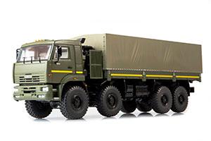 KAMAZ 6560 8X8 ONBOARD WITH TENT (USSR RUSSIAN TRUCK) DARK GREEN | КАМАЗ-6560 БОРТОВОЙ С ТЕНТОМ *КАМАЗ КАМСКИЙ АВТОЗАВОД