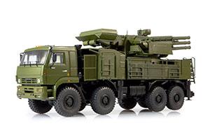 KAMAZ 6560 ZRPK PANTZYR (SHEL) S1 96K6 (USSR RUSSIA CAR) 2005 GREEN | КАМАЗ-6560 ЗРПК 96К6 (ПАНЦИРЬ-С1) *КАМАЗ КАМСКИЙ АВТОЗАВОД