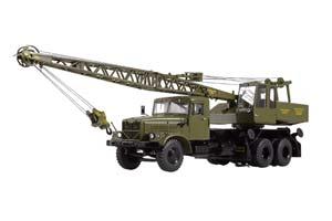 KRAZ 257 CRANE KC-4561 (USSR RUSSIA) GREEN | КРАЗ 257 АВТОКРАН КС-4561 ХАКИ