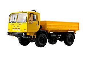KAZ 4540 DUMP TRUCK (USSR RUSSIA) YELLOW | КАЗ-4540 САМОСВАЛ