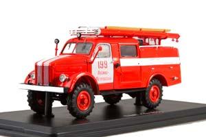 GAZ 63 PMG-19 FIRE TRUCK (USSR RUSSIA) | ПМГ-19 (63) ПЧ №199 ЛОСИНО-ПЕТРОВСКИЙ