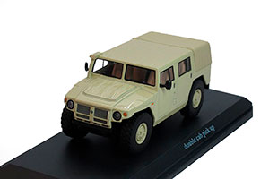 GAZ TIGER 233001 RUSSIAN HUMMER DOUBLE CAB MILITRY 2008 BEIGE (ГАЗ ТИГР ДВОЙНАЯ КАБИНА)