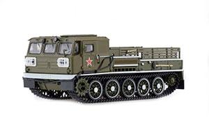TRACTOR ATS-59G ARTILLERY TRACKED PARACEL 1969-1985 (USSR RUSSIAN CAR) | АТС-59Г АРТИЛЛЕРИЙСКИЙ ГУСЕНИЧНЫЙ ТЯГАЧ ПАРАДНЫЙ 1969-1985 *ТРАКТОР