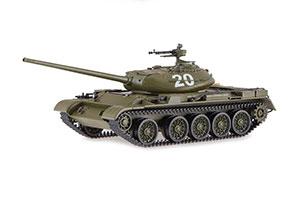 TANK T-54-1 1945-1974 DARK GREEN (USSR RUSSIA TANKS) | ТАНК Т-54-1 ТЕМНО ЗЕЛЕНЫЙ *БАК