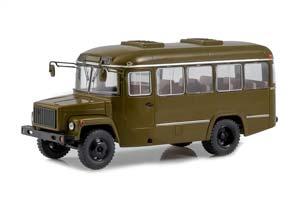 KAVZ 3976 ARMY BUS (USSR RUSSIA BUS) GREEN | КАВЗ-3976 АРМЕЙСКИЙ АВТОБУС (ХАКИ) *КАВЗ КУРГАНСКИЙ АВТОЗАВОД