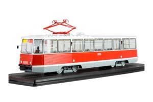 TRAM KTM-5MZ LENINGRAD (USSR RUSSIAN TRAM) DARK GREEN |ТРАМВАЙ КТМ-5М3 (71-605) ЛЕНИНГРАД МАРШРУТ 26 *ТРАМВАЙ