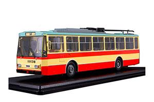 SKODA-14TR RED/BEIGE | ТРОЛЛЕЙБУС SKODA-14TR (КРАСНО-БЕЖЕВЫЙ) *ШКОДА