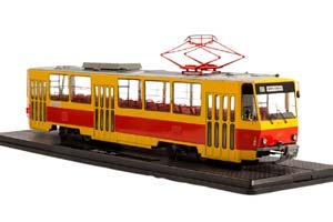 TRAM TATRA-T6B5 (USSR RUSSIA) | ТРАМВАЙ TATRA-T6B5 *ТРАМВАЙ