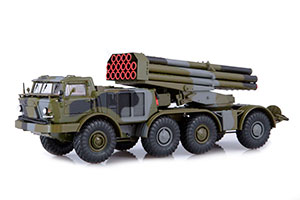 ZIL 135LM 9P140 MLRS 9K57 URAGAN ON THE CHASSIS ZIL (USSR RUSSIAN) | ЗИЛ 135ЛМ 9П140 РСЗО 9К57 УРАГАН НА ШАССИ ЗИЛ *ЗИЛ ЗАВОД ИМЕНИ ЛИХАЧЕВА