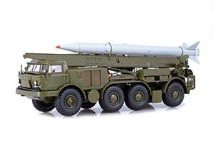 ZIL-135LM LUNA-M 9P113 WITH 9M21 ROCKET ON THE ZIL CHASSIS (USSR RUSSIAN) | ЗИЛ-135ЛМ ЛУНА-М 9П113 С РАКЕТОЙ 9M21 НА ШАССИ ЗИЛ *ЗИЛ ЗАВОД ИМЕНИ ЛИХАЧЕВА