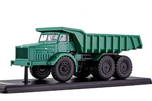 MAZ 530 DUMP TRUCK 40 TONS (USSR RUSSIAN TRUCK) GREEN | МАЗ МИНСКИЙ-530 КАРЬЕРНЫЙ САМОСВАЛ (40 ТОНН) ЗЕЛЁНЫЙ *МАЗ