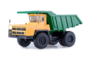 BELAZ-7522 CAREER DUMP TRUCK (USSR RUSSIAN) | БЕЛАЗ-7522 КАРЬЕРНЫЙ САМОСВАЛ