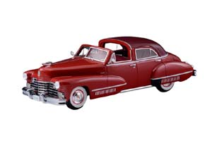 CADILLAC SIXTY SPECIAL TOWN BROUGHAM BY DERHAM (OPEN) 1942 RED