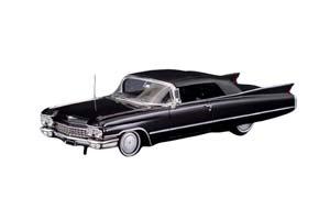 CADILLAC SERIES 62 CONVERTIBLE (ЗАКРЫТЫЙ) 1960 BLACK