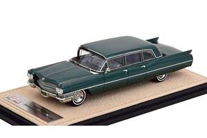 CADILLAC FLEETWOOD 75 LIMOUSINE 1964 GREEN METALLIC