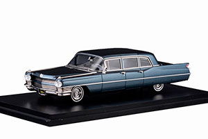 CADILLAC FLEETWOOD 75 LIMOUSINE 1964 SPRUCE BLUE METALLIC