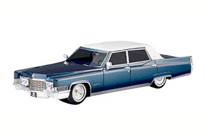 CADILLAC FLEETWOOD 60 SPECIAL BROUGHAM 1969 ATHENIAN BLUE