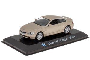 BMW 645I COUPE 2004 BEIGE (SUPERCARS SERIA)